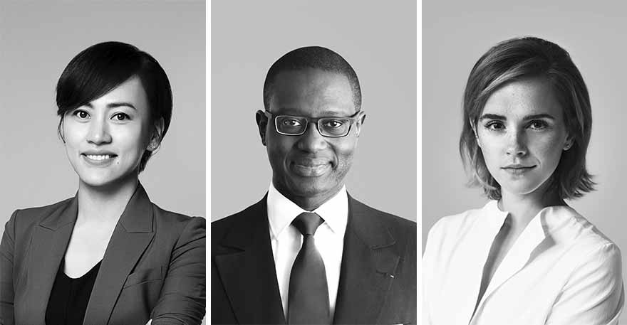 Emma Watson代表女权、柳青代表华人、谭天忠代表黑人加入开云集团董事会