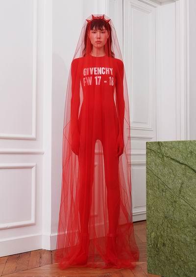 Givenchy Fall 2017