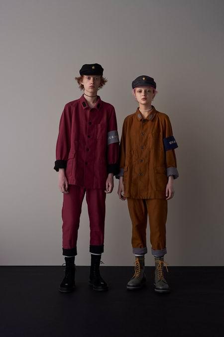 巴黎男装周Undercover Menswear Spring/Summer 2018春夏男装发布