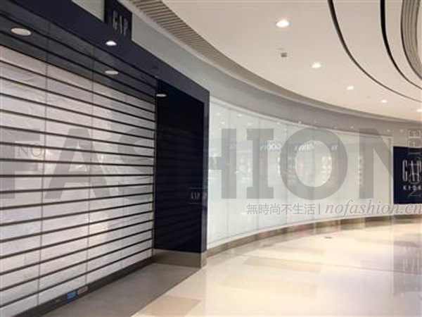 Gap广州天环店开业仅9个月突然结业 Old Navy同时撤出