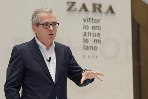 ZaInditex印地纺集团在线销售两年内推向全球 分析师指出电商对盈利压力大 股价连跌七日