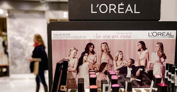 L'Oréal欧莱雅一季度超预期 依旧依靠奢侈品类别