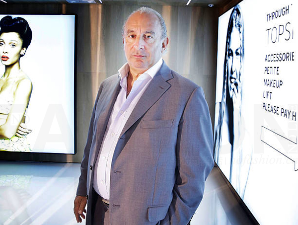 Topshop母公司Arcadia 关闭上海和香港办公室 Philip Green菲利普·格林爵位再度面临被剥夺风险