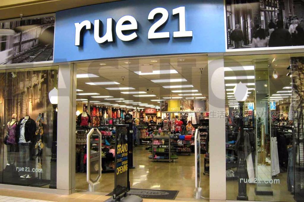 美国青少年品牌Rue21申请破产重组