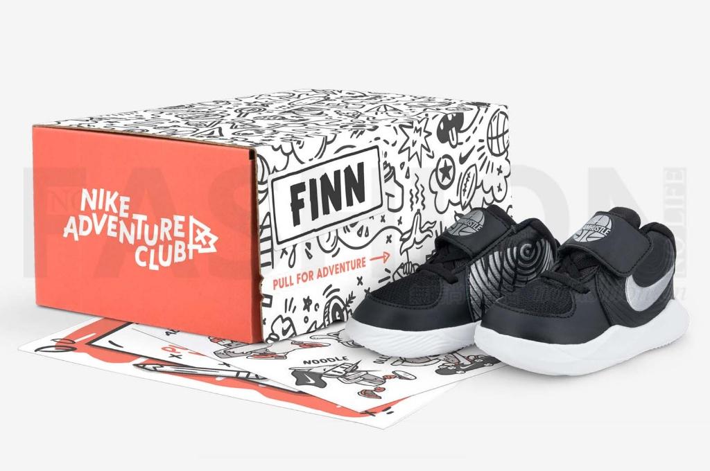 Nike耐克以童鞋为突破扣口进军按月订购市场