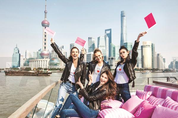 上海内衣秀前Victoria's Secret维多利亚的秘密和L Brands 10月同店销售意外重现增长 股价大涨 但警报仍未解除
