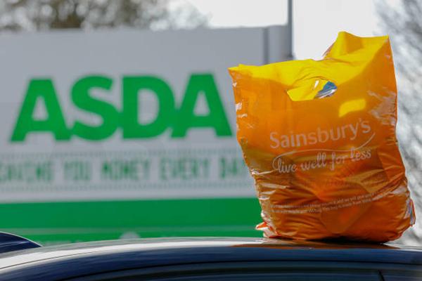 Asda 超越Sainsbury's 成为英国第二大超市