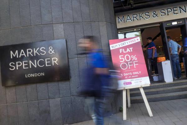 Marks & Spencer马莎百货将扩大关店规模至cgai'g'y100间
