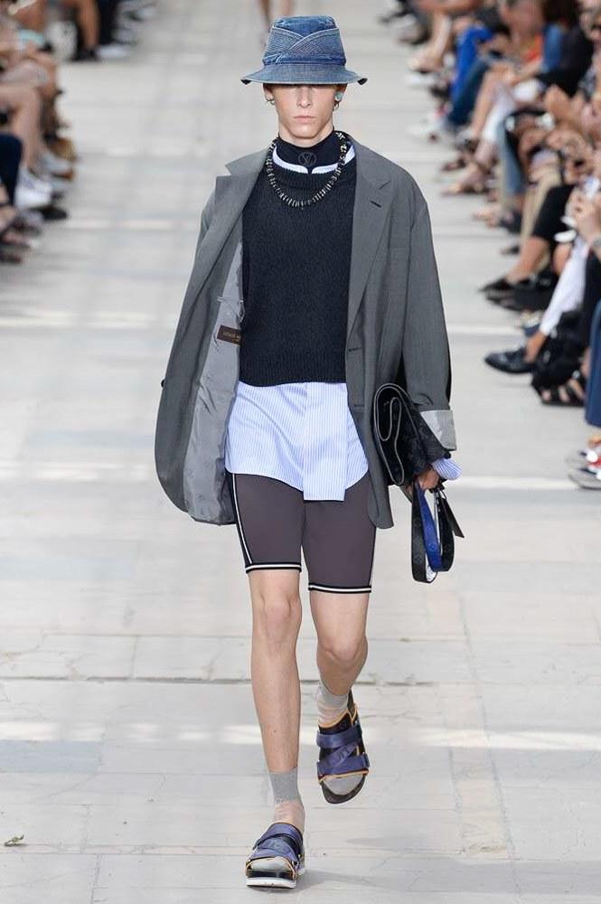 巴黎男装周Louis Vuitton Menswear Spring/Summer 2018春夏男装发布