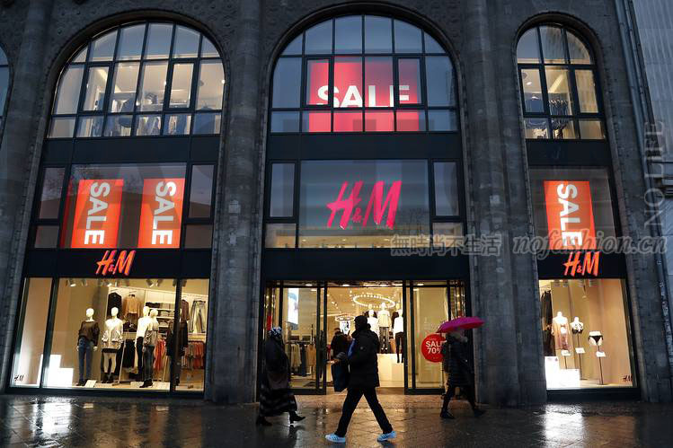 H&M 3月销售仅增6%逊预期 股价创4年新低