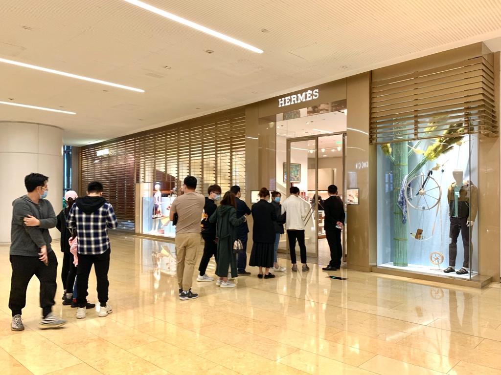 亚洲需求强劲反弹 Hermès成首个恢复整体增长的大型奢侈品集团