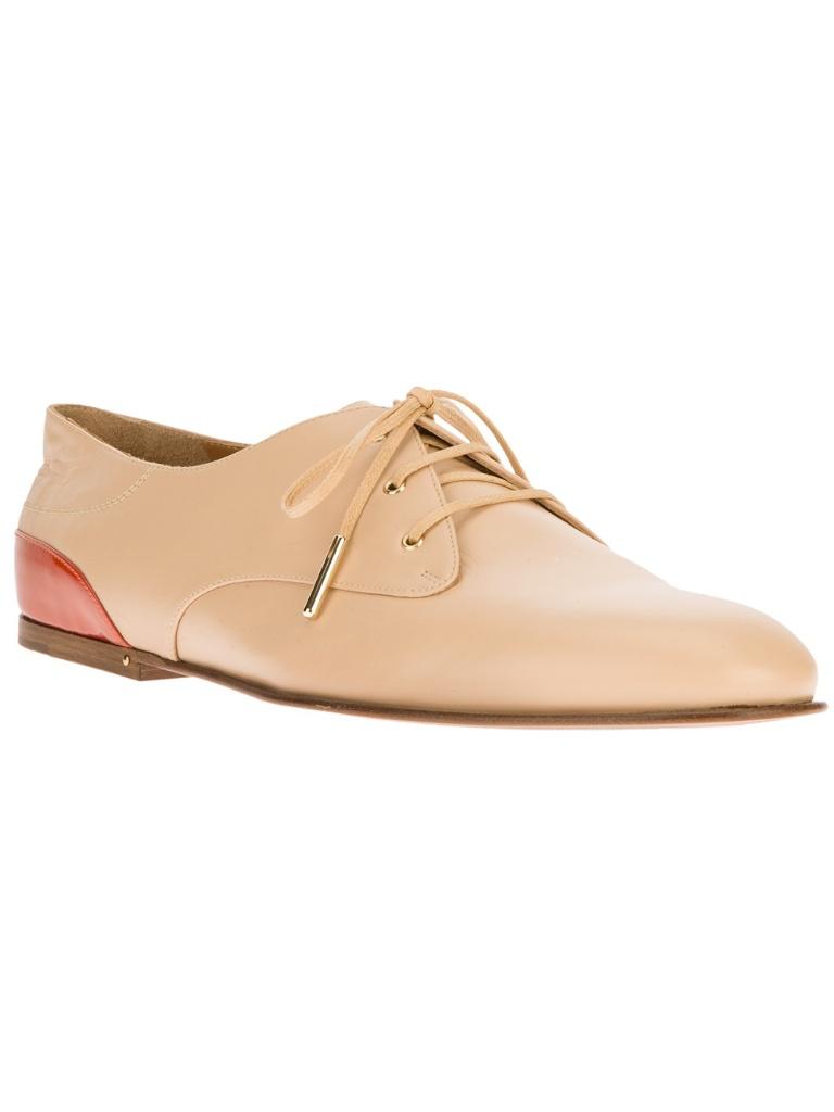 Chloé 系带鞋