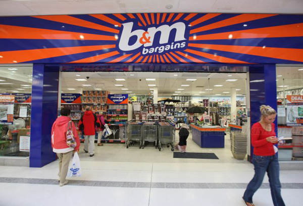 Wal-Mart 沃尔玛又有大动作 传英国子公司Asda拟44亿英镑收购B&M