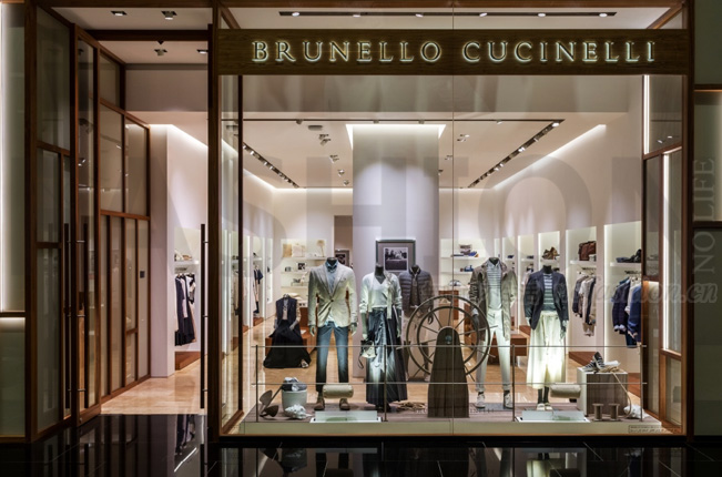 Brunello Cucinelli中期收入增长12%