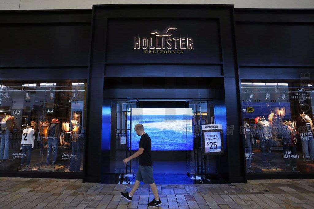 Hollister疑放缓 Abercrombie & Fitch销售展望逊预期 股价重挫27%