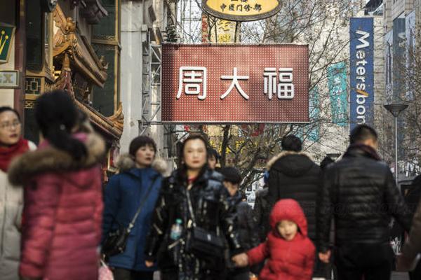 中国1-2月零售业增幅9.7% 化妆品强势