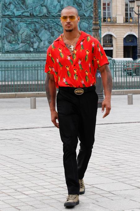 巴黎男装周SSS World Corp Menswear Spring/Summer 2018春夏男装发布