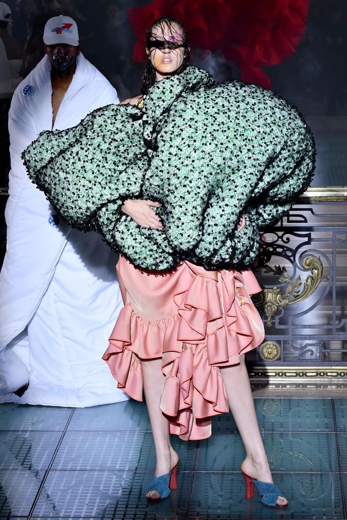 Andreas Kronthaler for Vivienne Westwood Spring 2018春夏巴黎时装周发布