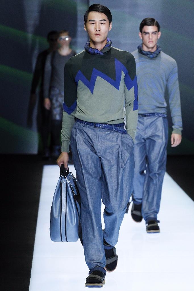 米兰男装周Emporio Armani Menswear Spring\/