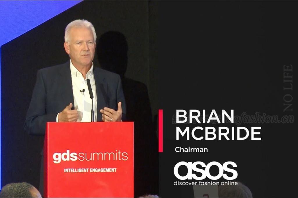 传:ASOS主席Brian McBride将离职