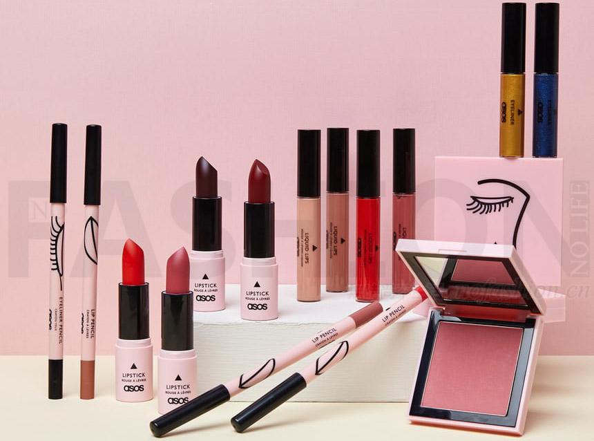 ASOS推出彩妆系列