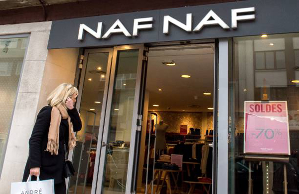 La Chapelle 拉夏贝尔收购法国Vivarte集团旗下品牌Naf Naf