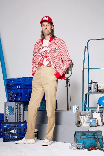 Band of Outsiders Menswear Spring/Summer 2018