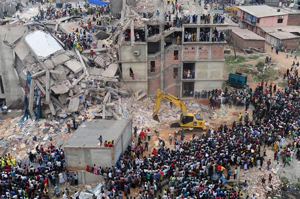 孟加拉国Rana Plaza 灾难6年忌