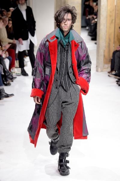 Yohji Yamamoto Menswear Fall/Winter 2017